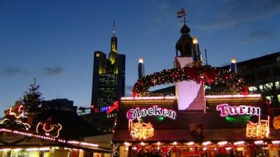 kerstmarkt Frankfurt Nacht 2012