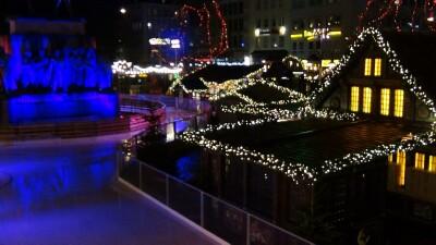 schaatspitste kerstmarkt Keulen