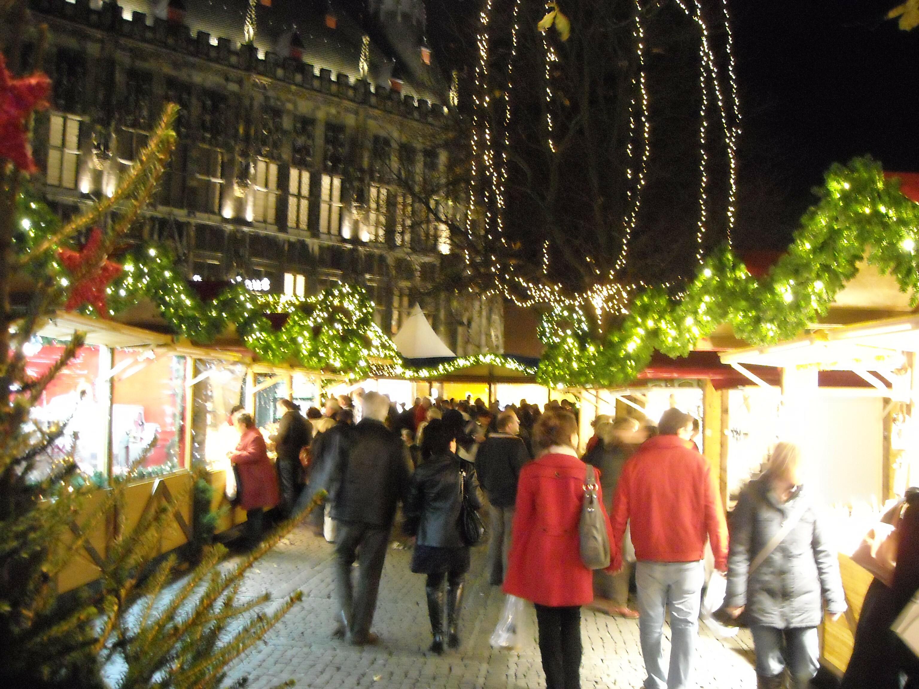 kerstmarkt aken
