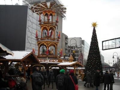 kerstmarkt Berlijn Alexanderplatz