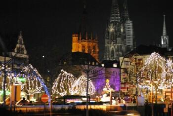 Twee Nieuwe kerstmarkten in Keulen