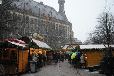 Eerste Kerstmarkt in sneeuw zijn verwacht begin december