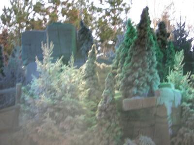Snow tree xmas