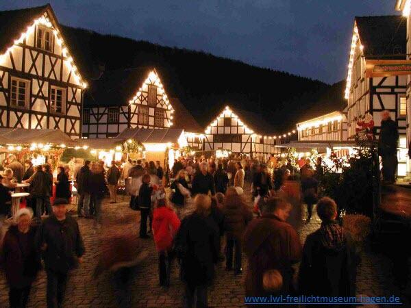 3 dagen Kerstmarkt in Hagen Openluchtmuseum 27, 28, 29 nov