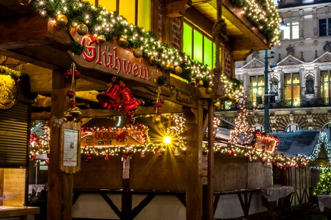 Duitse Kerstmarkt In Hamburg 2019