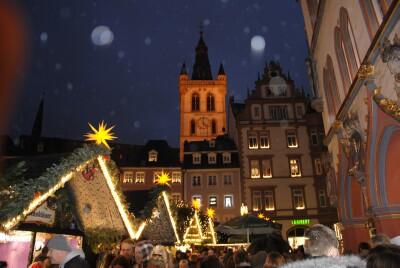 Duitse Kerstmarkt In Trier 2019